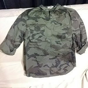 NEW!!!!!!!A army camouflage blouse